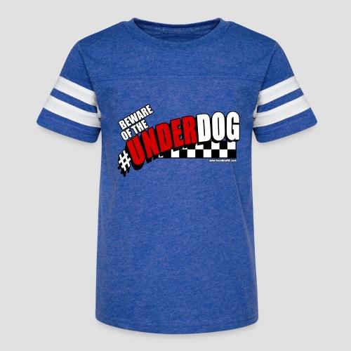 Men's Beware of the Underdog T - Kid's Vintage Sport T-Shirt