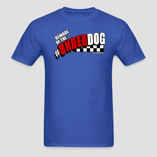 Men's Beware of the Underdog T - Men's T-Shirt