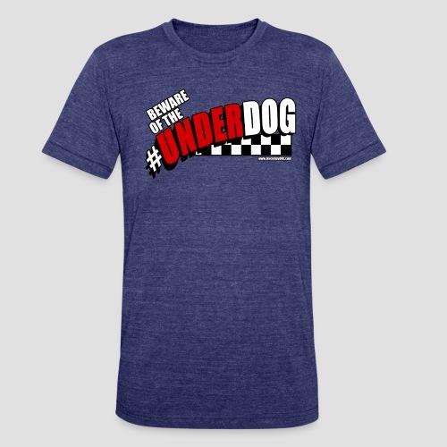 Men's Beware of the Underdog T - Unisex Tri-Blend T-Shirt