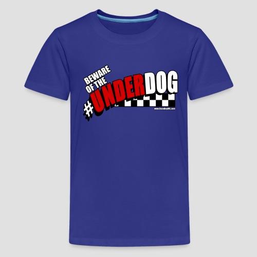 Men's Beware of the Underdog T - Kids' Premium T-Shirt