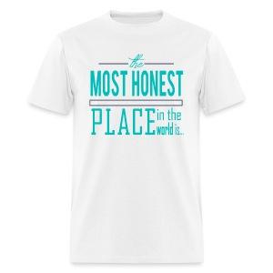 The Most Honest Place - Men's T-Shirt