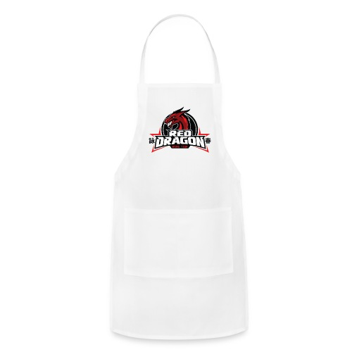 Red Dragon Wing Tzun Logo Premium Tank Top - Adjustable Apron