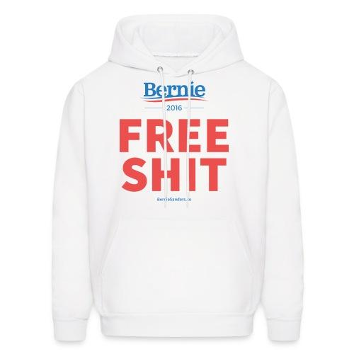 Bernie Sanders: Free Shit - Men's Hoodie