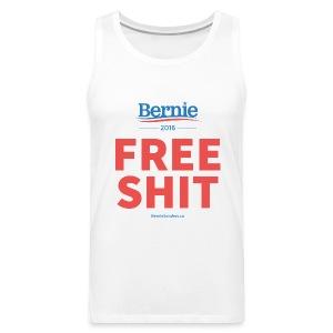 Bernie Sanders: Free Shit - Men's Premium Tank