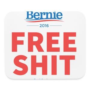 Bernie Sanders: Free Shit - Mouse pad Horizontal