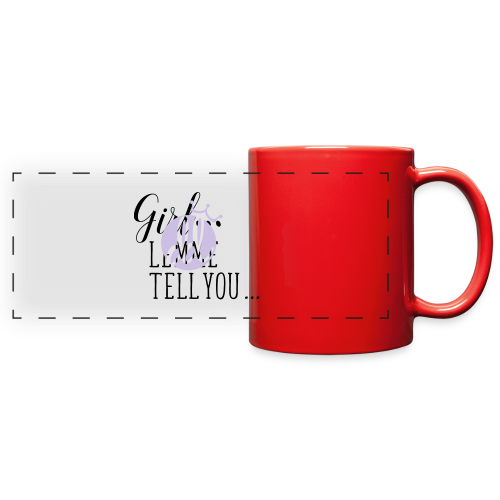 Good Gossip Mug - Full Color Panoramic Mug