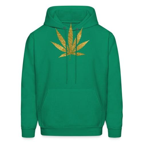Gold Marijuana T-Shirt - Men's Hoodie