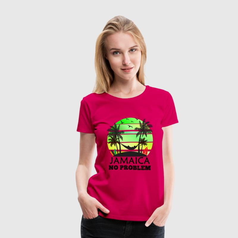 Jamaica No Problem Women's T-Shirts - Women's Premium T-Shirt