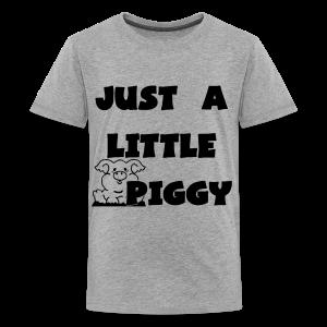 0212 - Lil Piggy  - Kids' Premium T-Shirt