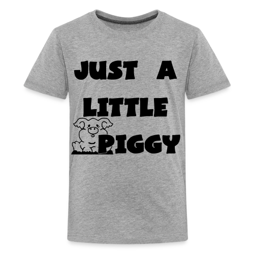 0212 - Lil Piggy  - Kids' Premium T-Shirt