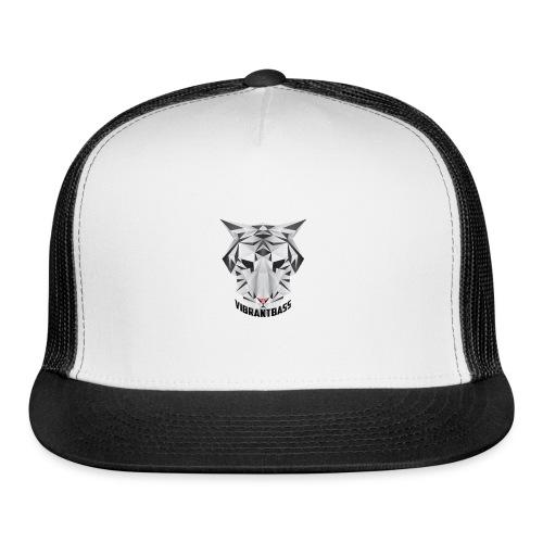 Men's Vibrant T/Shirt (Logo) White - Trucker Cap