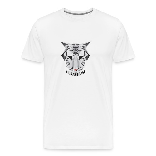 Men's Vibrant T/Shirt (Logo) White - Men's Premium T-Shirt