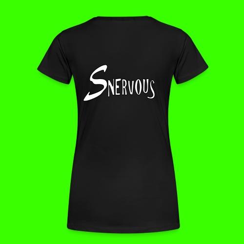 Snervous Hoodie - Women's Premium T-Shirt