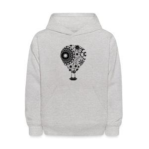 Hot Air Balloon Art - Premium Kid's T-Shirt - Kids' Hoodie