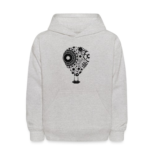 Hot Air Balloon Art - Premium Kid's T-Shirt - Kids' Hoodie