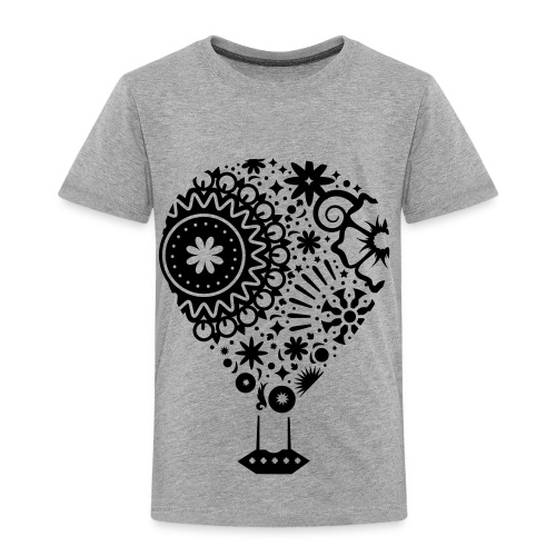 Hot Air Balloon Art - Premium Kid's T-Shirt - Toddler Premium T-Shirt