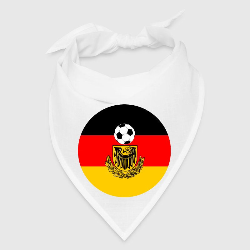 Germany flag with soccer ball Caps - Bandana