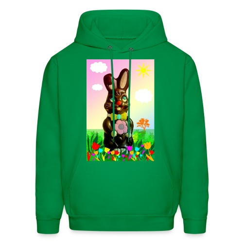 chocolate rabbit - Men's Hoodie