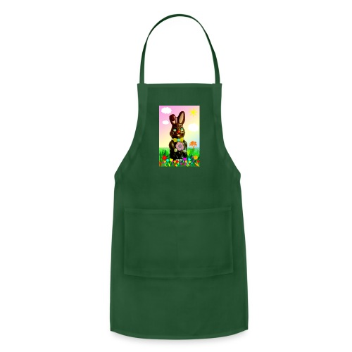 chocolate rabbit - Adjustable Apron