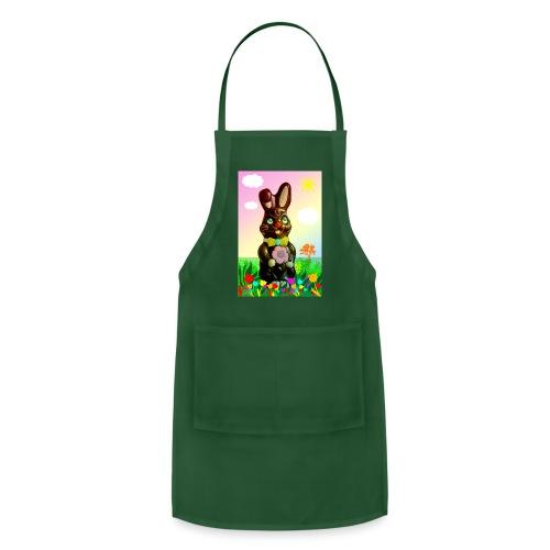 chocolate rabbit - Adjustable Apron