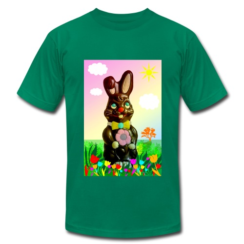 chocolate rabbit - Men's Fine Jersey T-Shirt