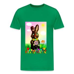 chocolate rabbit - Men's Premium T-Shirt