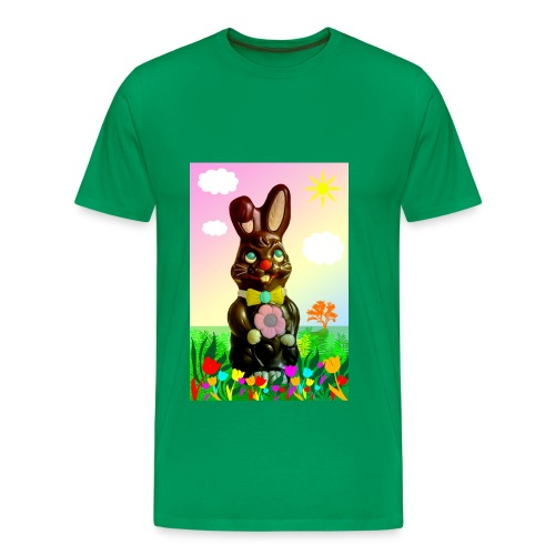 chocolate rabbit - Men's Premium T-Shirt