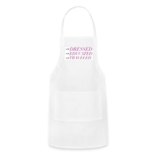 LiveLifeWell Slogan Tee - Adjustable Apron