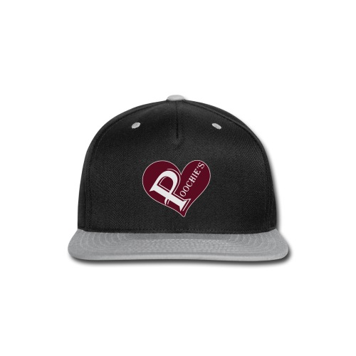 Poochie's Heart Tote Bag - Snap-back Baseball Cap