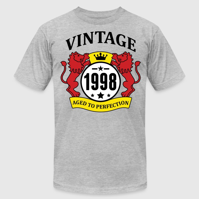Vintage 1998 Aged to Perfection T-Shirts - Men's T-Shirt by American Apparel
