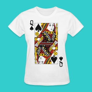Queen Card - Women's T-Shirt