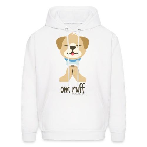 Om Ruff - Dog - Men's Hoodie