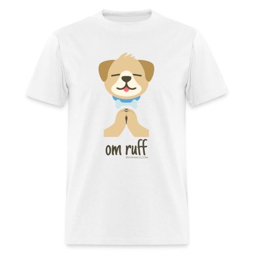 Om Ruff - Dog - Men's T-Shirt