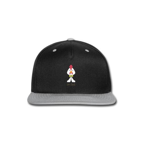 Om Cluck - Rooster - Snap-back Baseball Cap