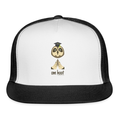 Om Hoot - Owl - Trucker Cap