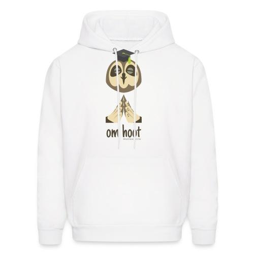 Om Hoot - Owl - Men's Hoodie