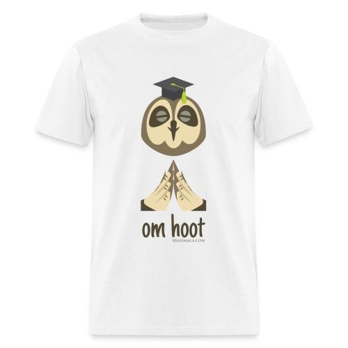 Om Hoot - Owl - Men's T-Shirt