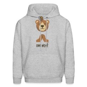 Om Woof - Bear - Men's Hoodie