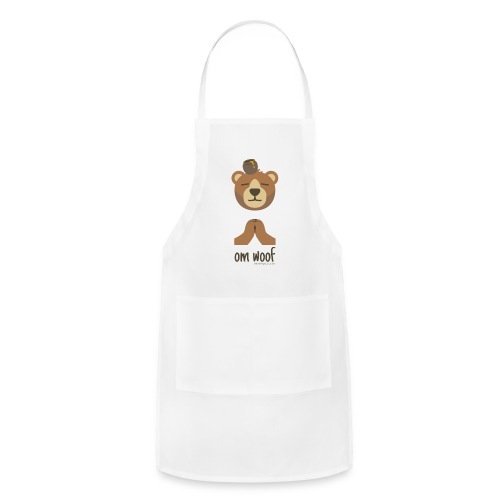 Om Woof - Bear - Adjustable Apron