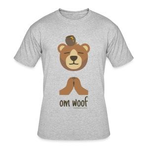Om Woof - Bear - Men's 50/50 T-Shirt
