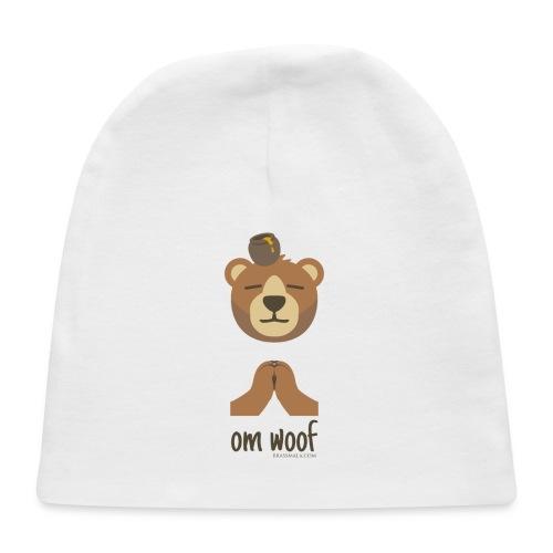 Om Woof - Bear - Baby Cap