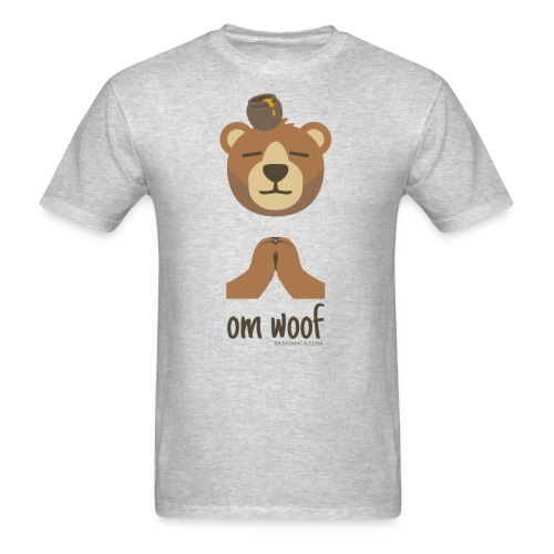 Om Woof - Bear - Men's T-Shirt