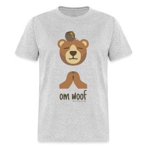 Om Woof - Bear - Men's T-Shirt