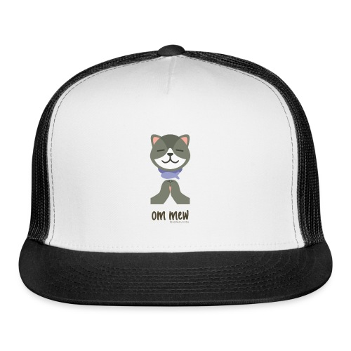 Om Mew - Cat - Trucker Cap
