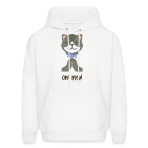 Om Mew - Cat - Men's Hoodie