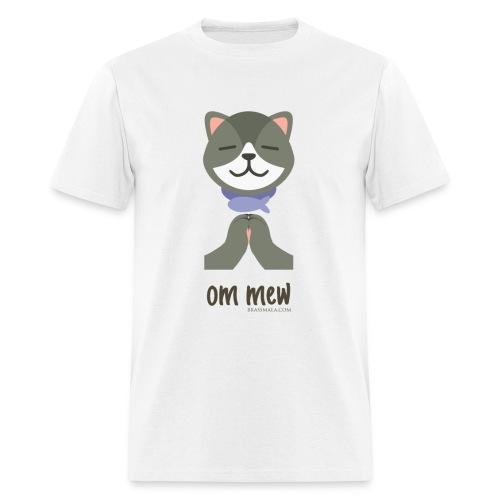 Om Mew - Cat - Men's T-Shirt