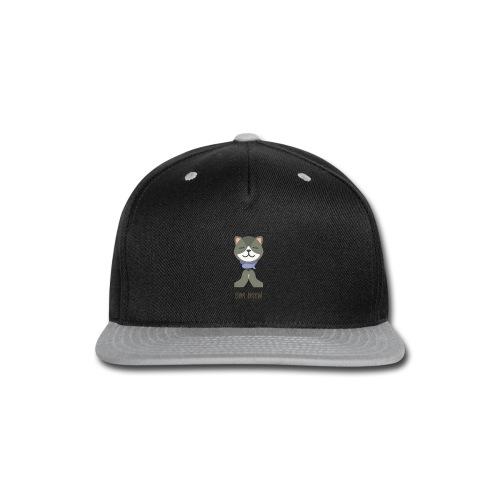 Om Mew - Cat - Snap-back Baseball Cap