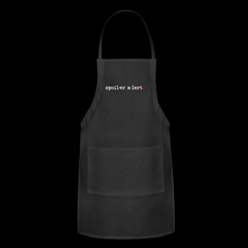spoiler alert - Adjustable Apron