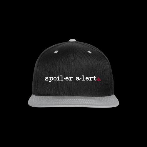 spoiler alert - Snap-back Baseball Cap