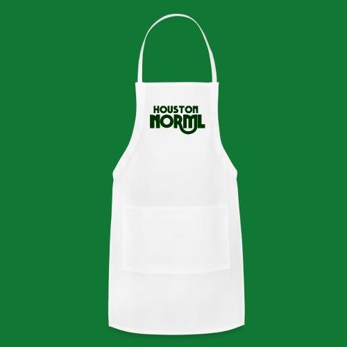Men's Cotton Tee Houston NORML Swoop Dark Green Logo - Adjustable Apron